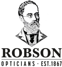 Robson's Opticians Logo